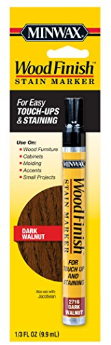 (Minwax 63487000 Wood Finish Stain Marker, Dark Walnut)