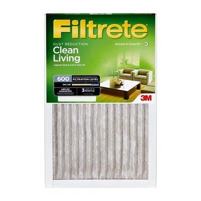 3M Dust & Pollen Reduction Filter 16''x 24''x 1''(9891DC-6)