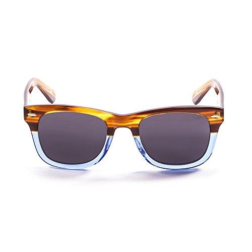 Ocean Sunglasses Lowers Lunettes de soleil Brown /Blue Down/Smoke Lens