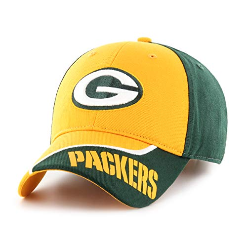 NFL Green Bay Packers Sprout OTS All-Star Adjustable Hat, Dark Green, Kid's