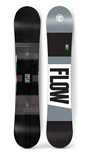 Flow 2017 Merc (WIDE) Black Men's All Mountain Snowboard