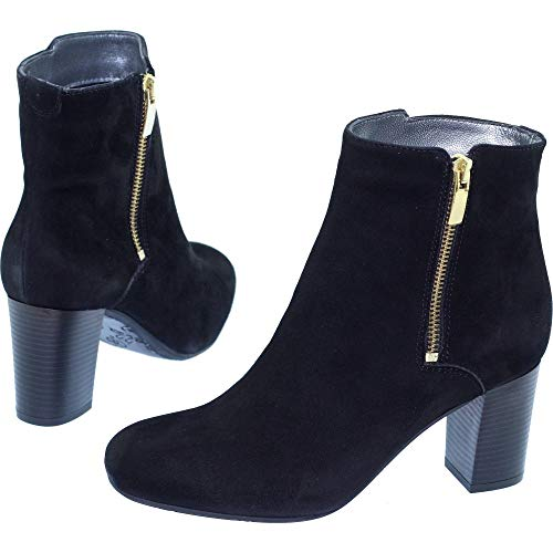 ® Bottine Daim Mode A B Tailles Bella Noir Petites Cuir Marque qBrBnXwW6x