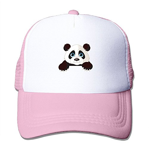 fan products of Antonia Surrey Funny Panda Bear Love Basketball Baseball Cap Trinity Cap Vintage Hat Baseball Cap Adjustable Washed Dyed Cotton Ball Hat Front Adjustable Cap Pink