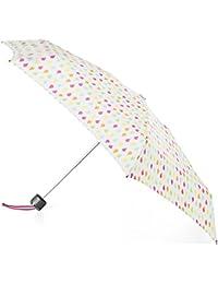 Titan Mini Umbrella with NeverWet, White Rain
