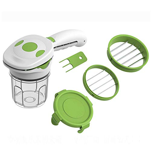 Wgch 5 in 1 Multifunction Vegetable Cutter Fruits Cutting for Kitchen Cooking Dinner Party by Wgch