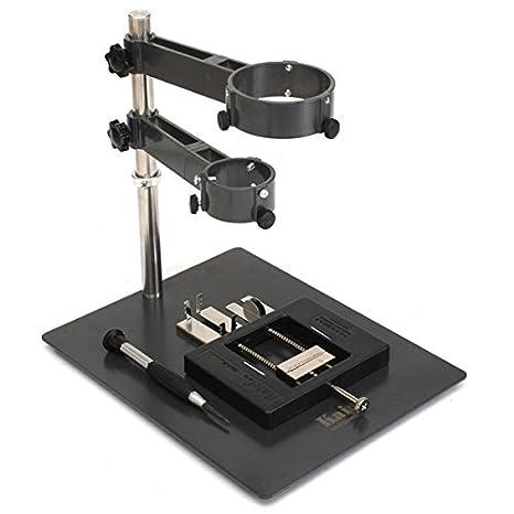 Saver Soporte y accesorios para pistola de aire caliente de soldadura smd reproceso o estación desoldeing: Amazon.es: Electrónica