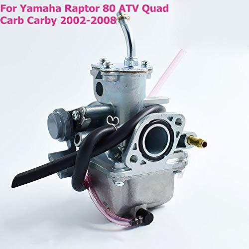 Fuel System -1set Motorcycle Carburetor for Raptor 80 ATV Quad Carb Carby 2002-2008