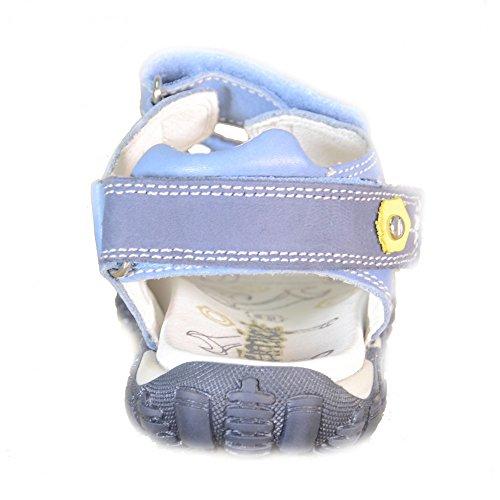 Primigi - Primigi Sandaletti Bambino Azzurri Pelle Strappi 62080 - Bleu, 32