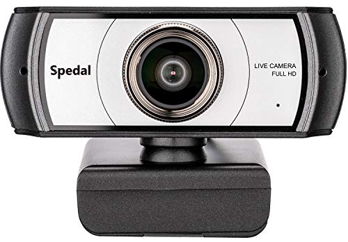 120 Degree Ultra Wide Angle Webcam 920 Pro, Full HD 1080p USB Web Camera, Plug and Play Video Calling Computer Camera for PC, Laptop and Desktop, Compatible with Xbox OBS XSplit Skype Facebook