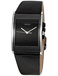 Rado Men's RADO-R20861165 Integral Black Dial Watch