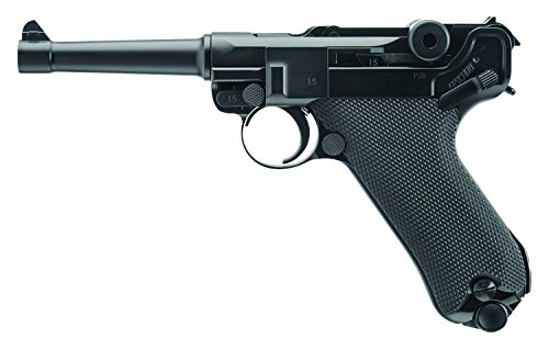 Legends P.08 Blowback 2251803 BB Air Pistol w/Fixed Sights (Umarex Legends Mp40 Co2 Bb Submachine Gun)