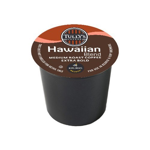 Tully's Coffee Hawaiian Blend, 120 K-Cups