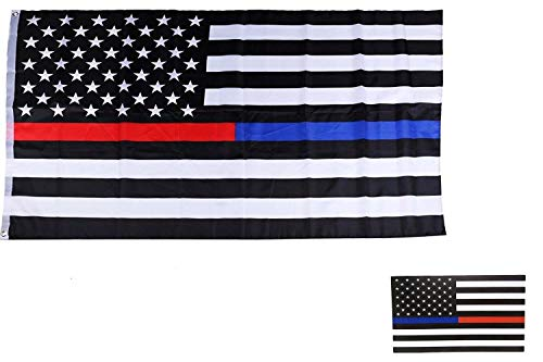 Moon Knives Wholesale Combo Set USA Thin Red Blue Line 3x5 3