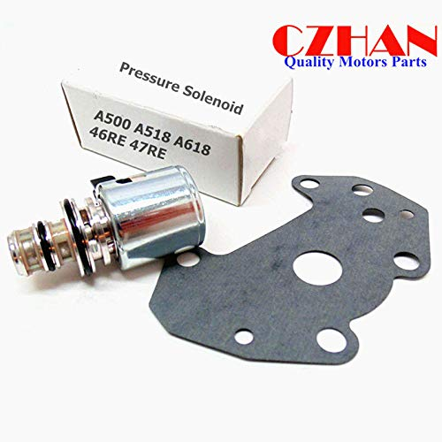 CZHAN A500 A518 46RE 47RE 46RH Governor Pressure Sensor Transducer &  Solenoid Kit Compatible With 00 01 02 03 04 Jeep Grand Cherokee/00 01 02 03  Dodge