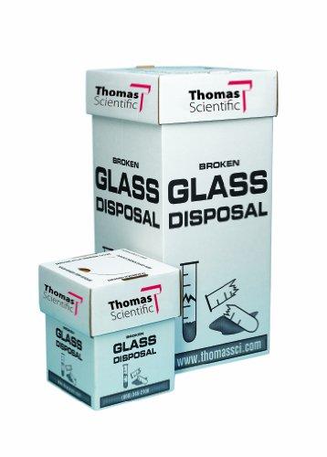 Thomas 1236 Glass Floor Disposal Box 12 Length x 12 Width x 27 Height (Pack of 6) / Thomas 1236 Glass Floor Disposal Box 12 Length x 12 Width x 27 Height (Pack of 6)