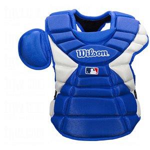 Wilson Pro Stock Hinge FX 2.0 Baseball Catcher's Chest Protector (Royal, 16-Inch)