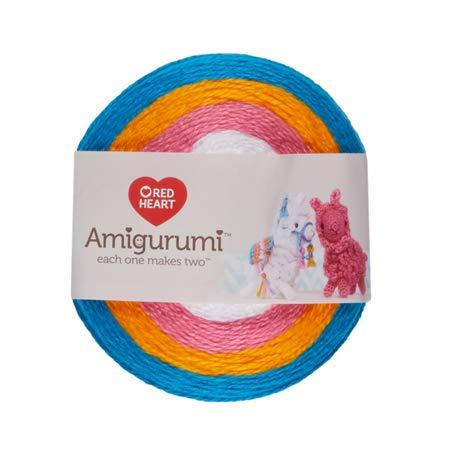 Red Heart Yarn Amigurumi Llama