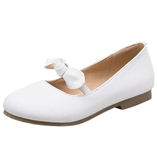 Zapatos Dulce 1 Zanpa white Mujer Ballet t1w5Yq