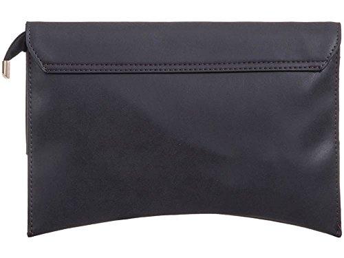 gris moyen Pochette Hautefordiva noir femme pour S8ztqP