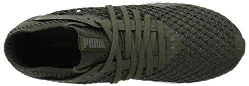 Puma Mens Ignite Netfit Cross-trainer-scarpe Foresta Notte-castor Grigio