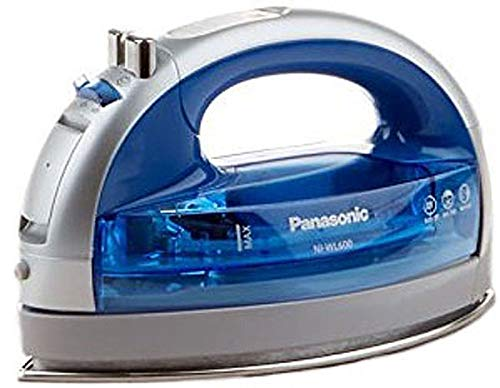 Panasonic 360º Freestyle Cordless Iron with Carrying Case NI-WL600 BLUE COLOR (Iron Case Carrying Steam)