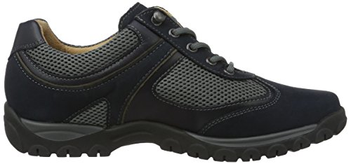 Gwen G Asphalt Azul Blau Zapatos de Ganter para Navy Weite 3161 Cordones Mujer Brogue d7Axdn