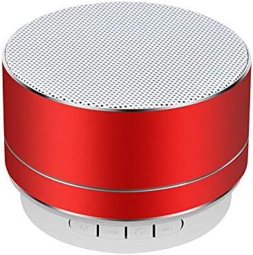 Altavoz inalámbrico Bluetooth para teléfono portátil, Mini Cannon Wireless Card Audio A10-Red
