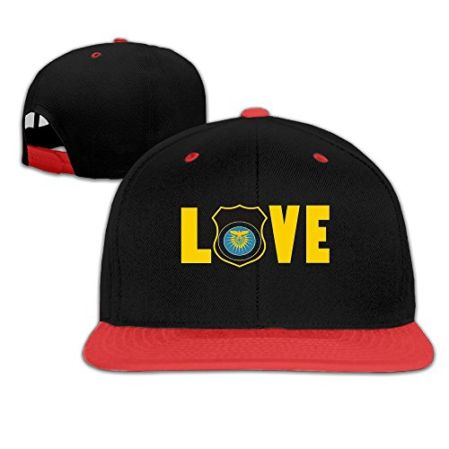 [Love Police Baseball Cap Hat Velcro] (Cheap Police Hats)