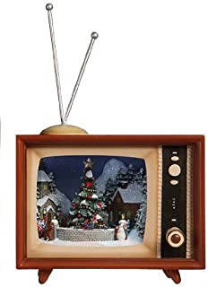 horizontal christmas tv box