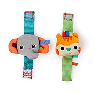 Bright Starts 8531 Rattle Me Wrist Pals Rattle Toy