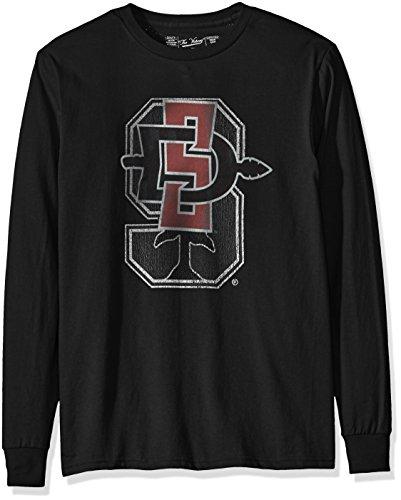 Original Retro Brand NCAA San Diego State Aztecs Men's Long Sleeve Tee, Medium, ()