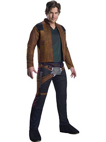 Rubie's Men's Standard Han Solo Adult Costume, Standard -