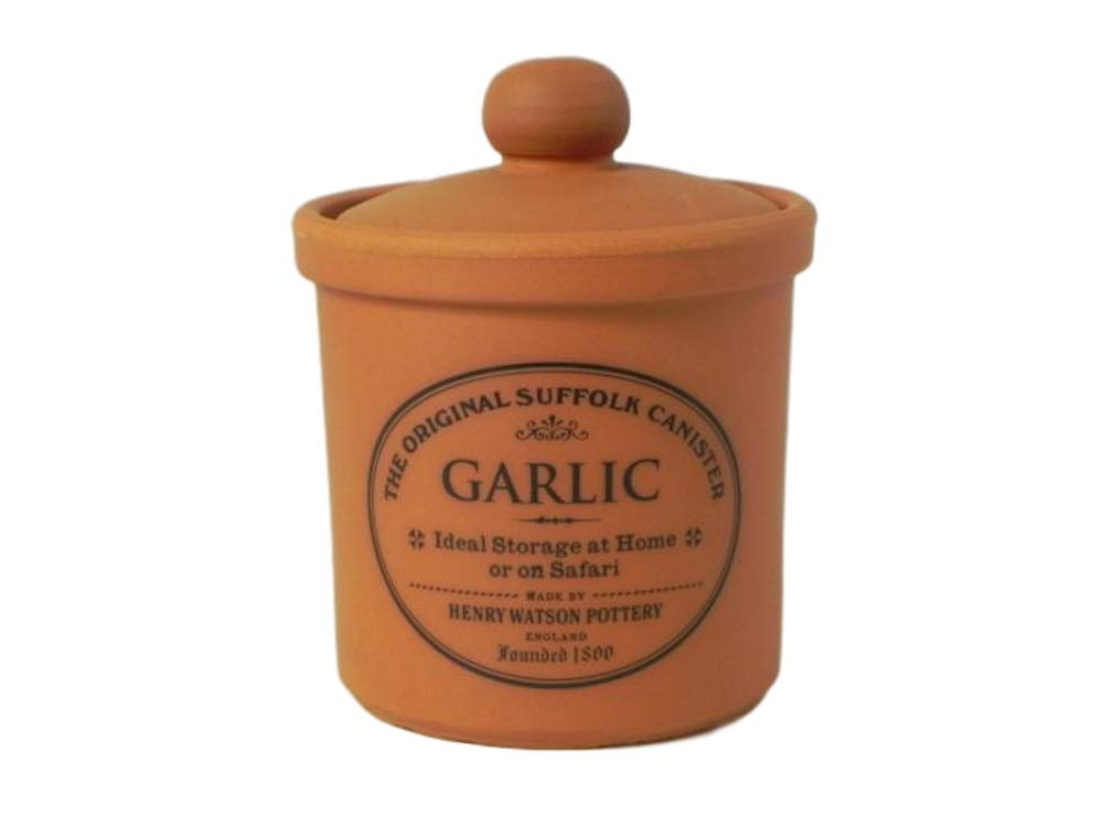 Original Suffolk Terracotta Garlic Cellar (Small)