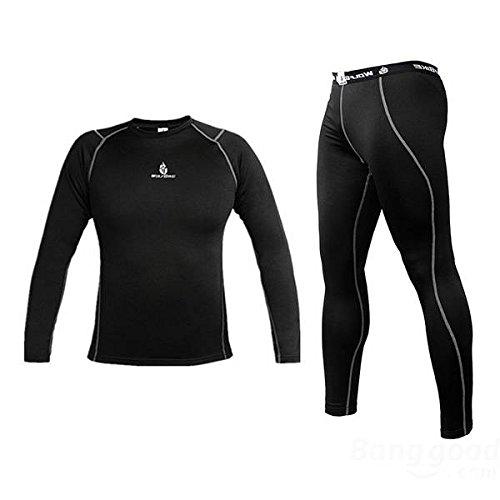 Bazaar Manches longues vélo pantalons en jersey vélo vélo chemise sportswear