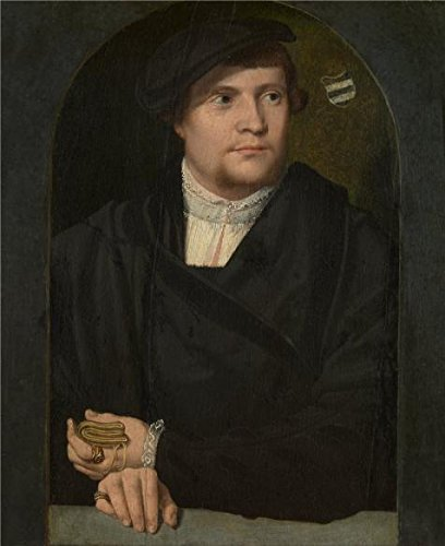 portrait-of-a-man-by-bartholomaus-bruyn-the-elder-oil-painting-8x10-inch-20x25-cm-printed-on-perfect