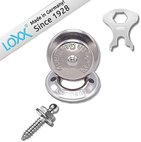 Tenax Fasteners for Boat Canvas or Electric Guitar 20 sets Convertible Cars