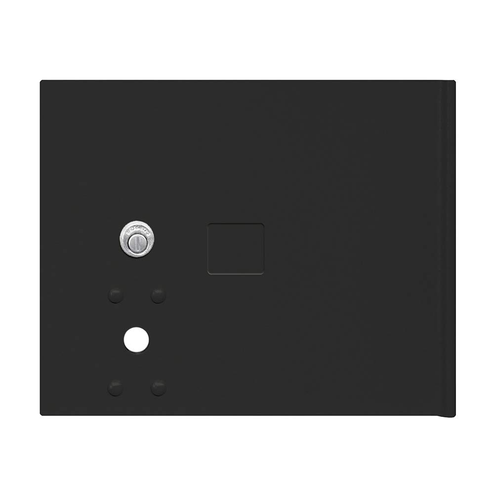 Salsbury Industries 3353BLK Replacement Parcel Locker Door and Tenant Lock for Cluster Box Unit Small Parcel Locker with Keys Black