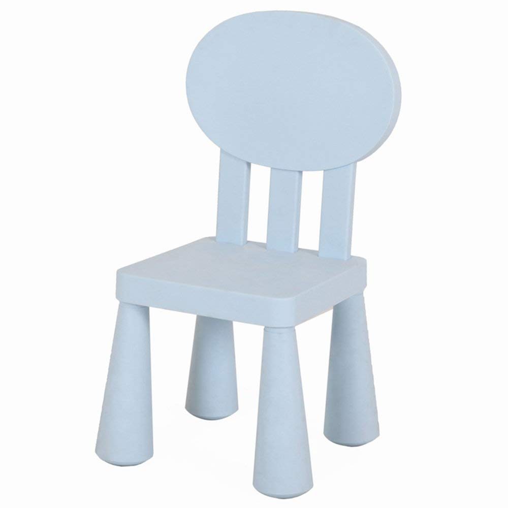 QTQZ Brisk - Kids Table and Chairs Nursery Table and Chair Baby Learning Table and Chair Game Table Plastic Drawing Table (Color: U)