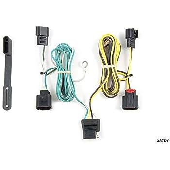 1966 dodge charger wiring harness amazon com curt 56109 vehicle side custom 4 pin trailer wiring  amazon com curt 56109 vehicle side