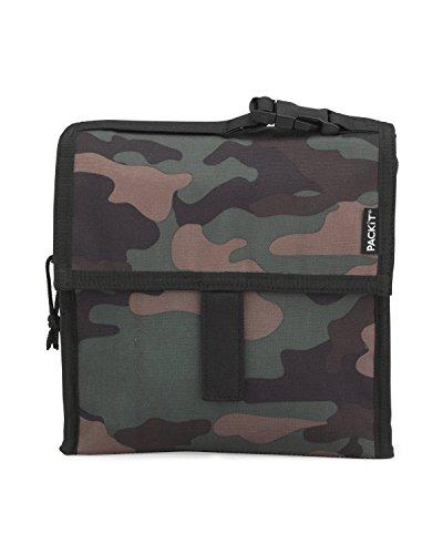 PackIt Freezable Military Camo Mini Cooler Snack Bag
