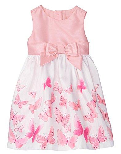 - Gymboree Baby Girls Sleveless Butterfly Dress, Petal Pink, 12-18 Mo