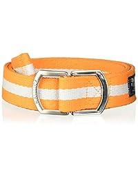 NAUTICA 08-8441-9 Cinturón para Hombre, color Naranja, Talla Única