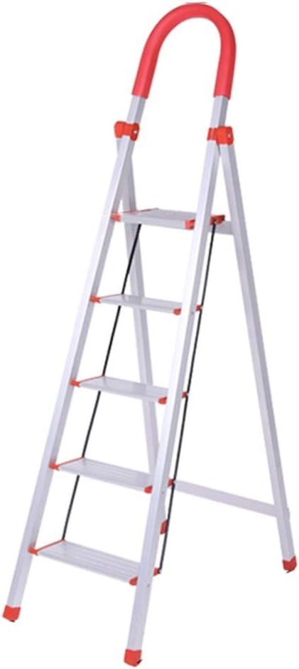ZHAOYONGLI Taburete Plegable Escaleras de Mano Aleación De Aluminio Escalera Doméstica Espesar Escalera Escalonada Escalera De Escaleras Escalera Multifunción Taburete Escalonada Interior En Espiga: Amazon.es: Hogar