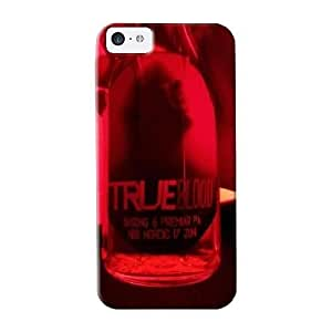 Inthebeauty 455078c1955 Protective Case For Iphone 5c(true Blood Bottle) - Nice Gift For Lovers