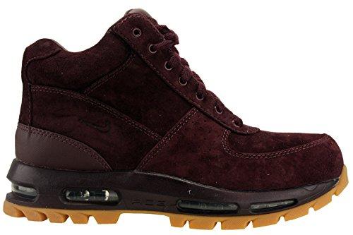 Nike Mens ACG Air Max Goadome Leather Boots Deep Burgundy 599474-600 Size 9.5
