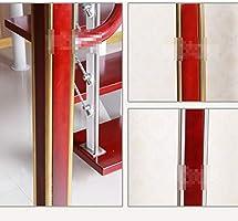 LZ Pasamanos de Escalera de Cristal de 110 cm Balcones, balustres de Escalera Retro Barandilla de Escalera Tallada Rural, Molduras de Madera Barandillas de tarima de Cubierta, Pasamanos (Color : Oro): Amazon.es: