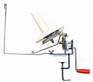U-nitt Metal Jumbo Yarn/Wool Ball Winder Hand Operated (High Speed) Capacity: 10 oz MH701