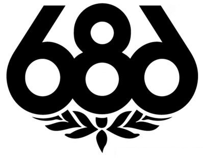 Amazon 686 Hats Snowboard Vinyl White Sticker 115 Width By 9 Height Everything Else