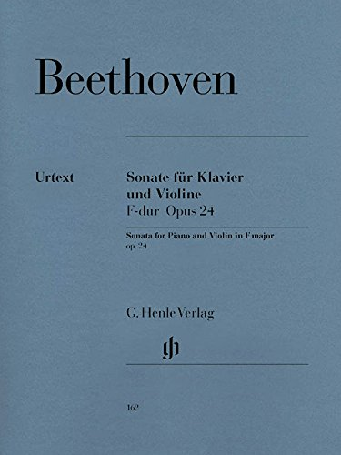 Sonata for Piano And Violin F Major Op. 24 (Spring Sonata)