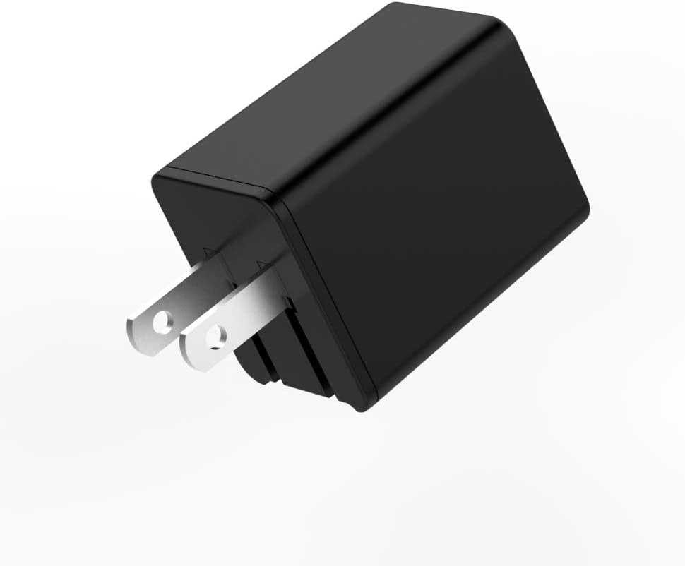 USB Charger PD 18W, QC 3.0 Dual Port with Foldable Plug, 5v/9v/12v Universal USB and Type C Wall Charger Combination for iPhone/Ipad/Samsung Galaxy/Wireless Charger All Series